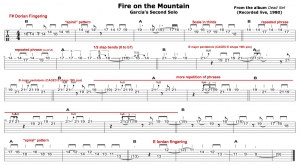 Fire on the Mountain (Dead Set) - 2nd solo