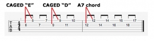 A mixolydian in 6ths